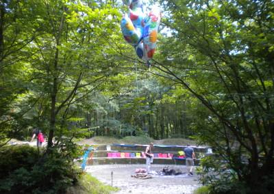 Geburtstagsritual in der Natur