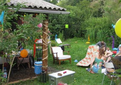 Ritualplatz im Garten