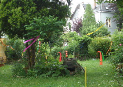 Willkommensfest im Garten