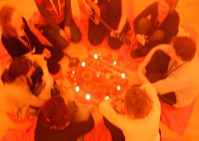 Singen um die gemeinsame Mitte